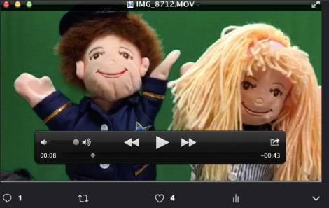 a puppets teacher ed